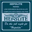 Triumph T100 hepolite pistons