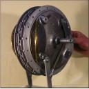 Wyścigowy hamulec Honda rc 4LS 230mm replika