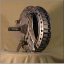 Wyścigowy hamulec Honda rc tylni 2LS 200 mm replika